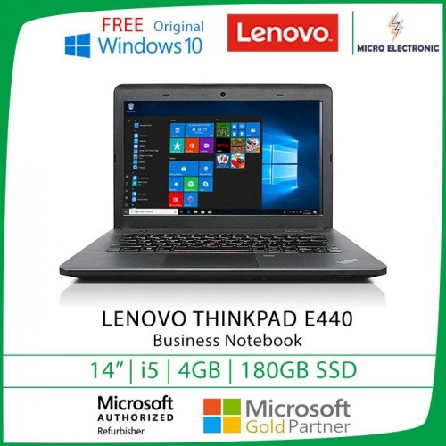 Lenovo Thinkpad E440 Laptop 14