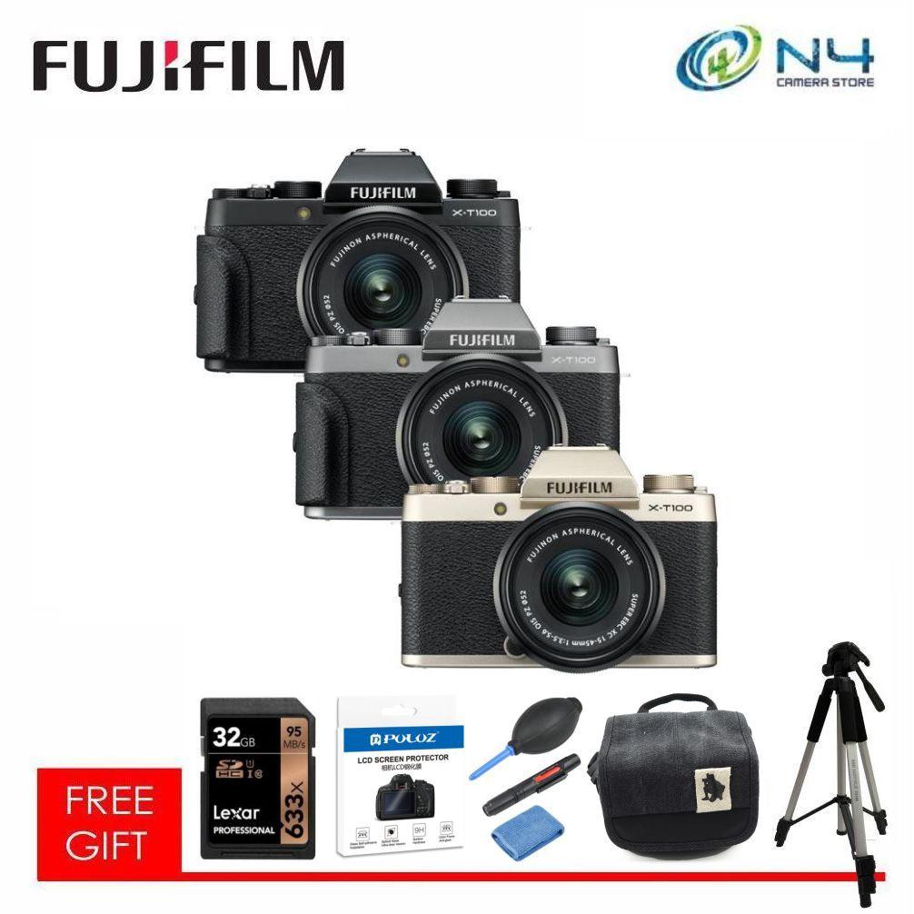 "Screen Protector for 3/"" Fujifilm X-T100 Mirrorless Camera XC 15-45mm Lens-3 Pack"