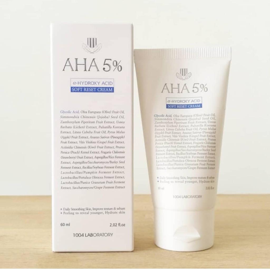 1004 LABORATORY AHA 5% Hydroxy Acid Soft Reset Cream