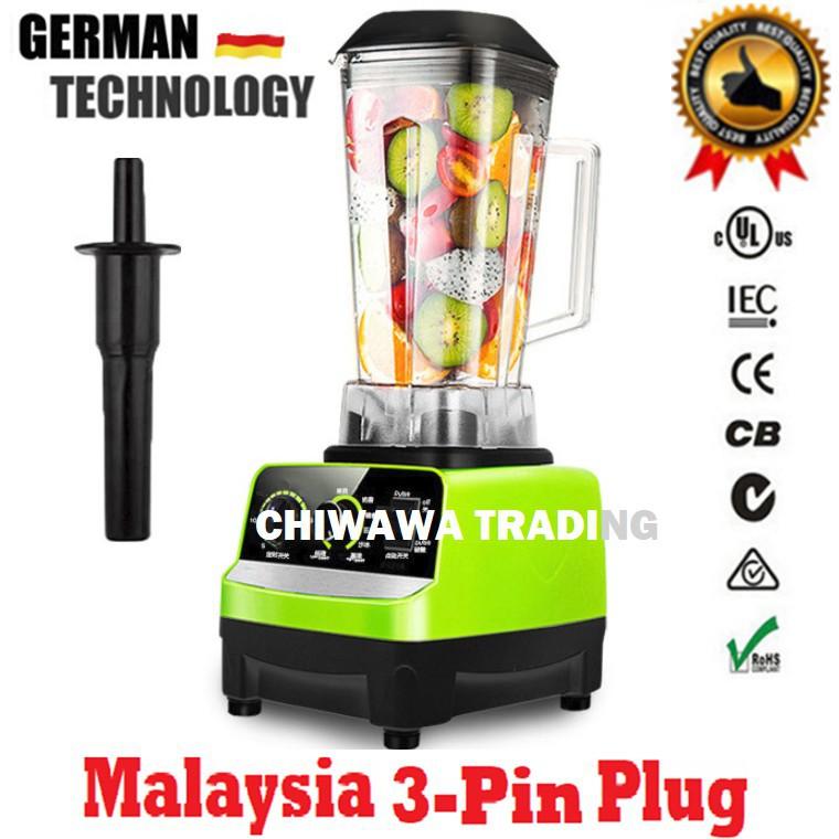 【Malaysia 3-PinPlug】Stainless Steel  Blender Grinder Juicer Extractor / Pengisar
