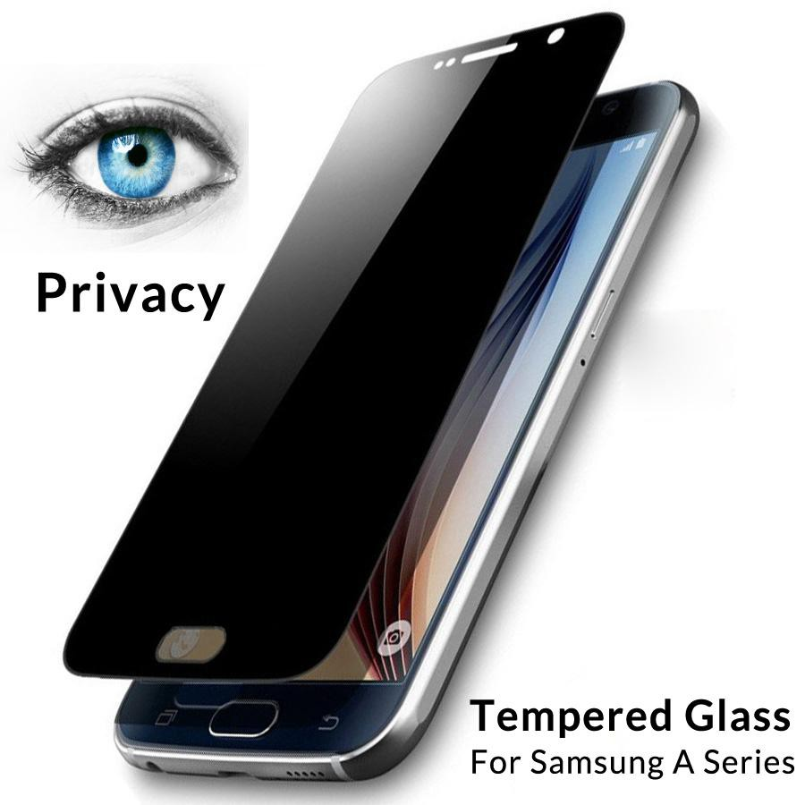 (Privacy) Samsung J1 MINI PRIME J330 J4 J530 J5 PRIME J510 J6 J710 J730 J8 Anti Spy Privacy Tempered Glass Black Screen
