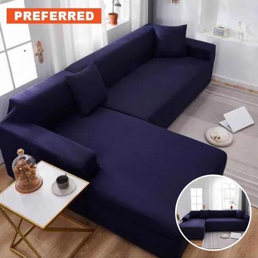 Picture of: Fast Deal 1 2 3 4 5 Seat Sofa Couch L Shape Sofa Cushion Fabric Sofa Cover Soft Delicate Slipcover Pillow Guarantee Shopee Malaysia