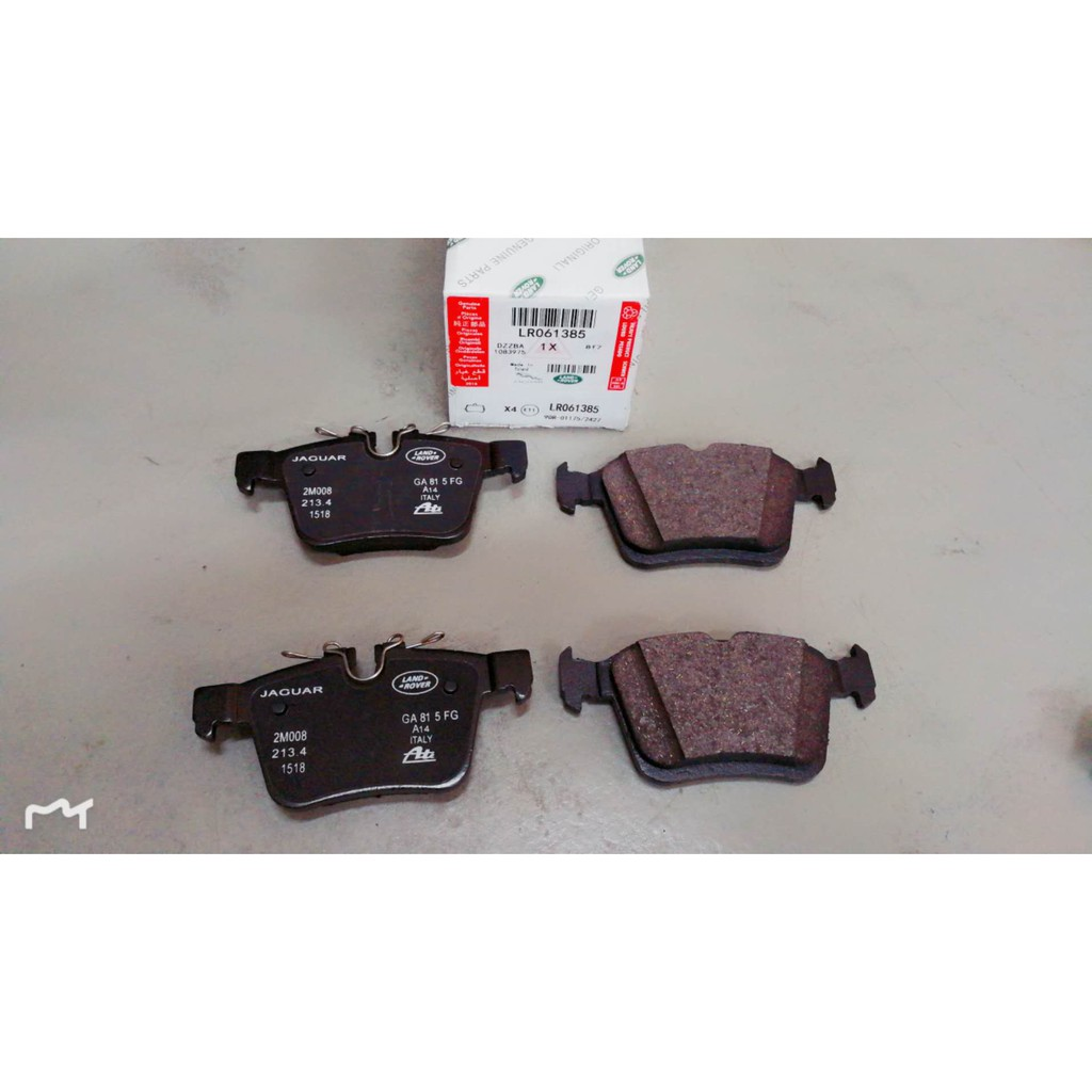 Rear brake pads fits Land Rover Discovery Sport and Evoque Genuine OEM LR061385
