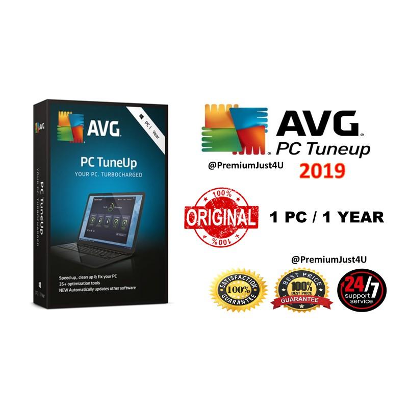 (Windows) AVG PC Tuneup 2019 1 PC 1 Year (Genuine)