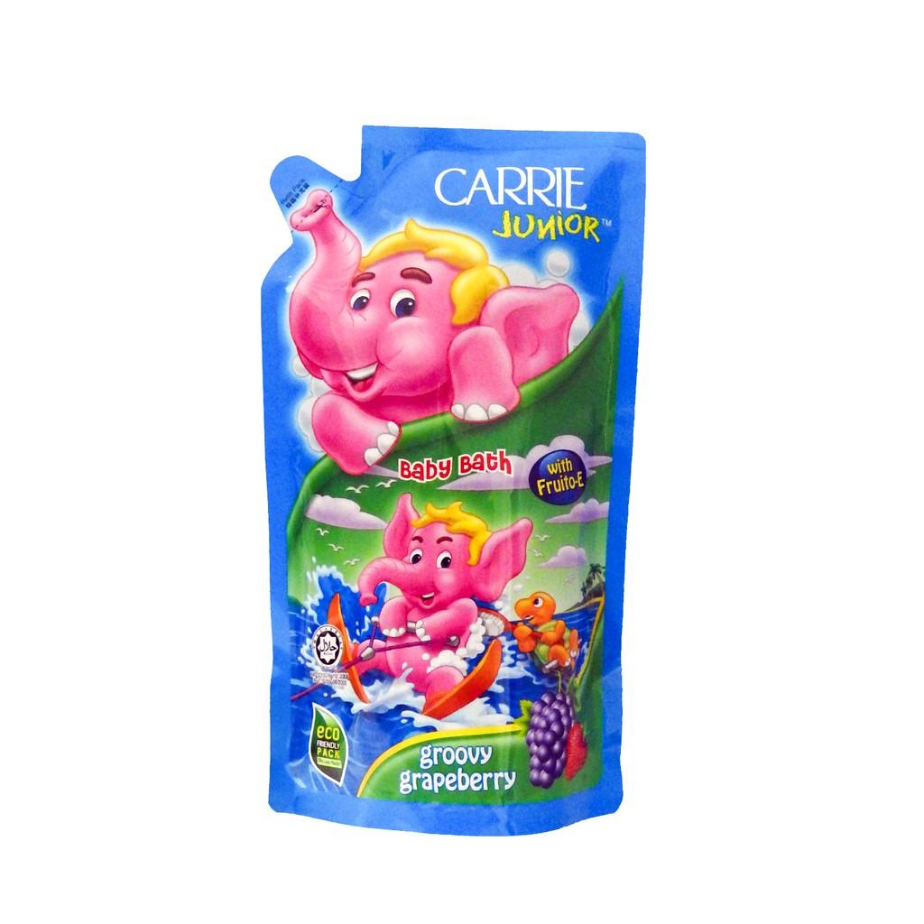 Carrie Junior Baby Bath Groovy Grapeberry Refill 500g