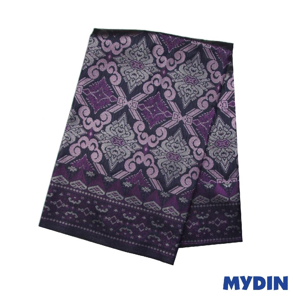 "Men Sampin - Purple with Designs (2.25m X 36"") 0819PECDD01 #Raya"
