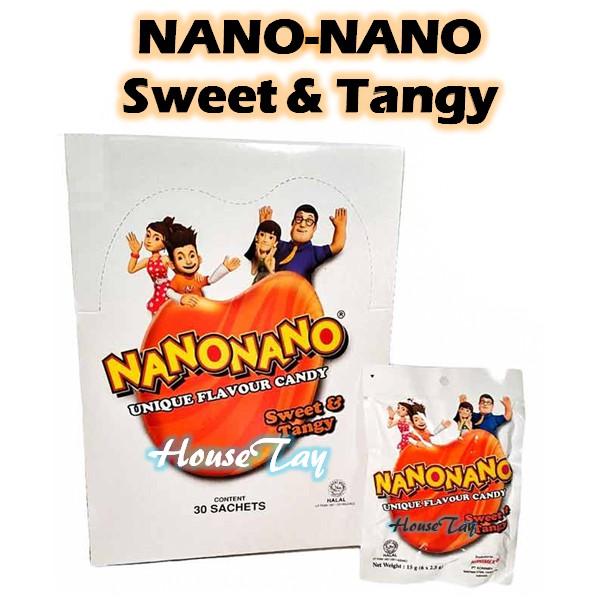[READY STOCK] Nano Nano Sweets Candy 30pkt