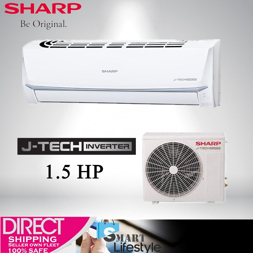 SHARP 1.5HP INVERTER AIR CONDITIONAL AHX12UED