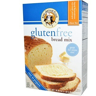 King Arthur Flour, Gluten Free Bread Mix, 18 25 oz (517 g)
