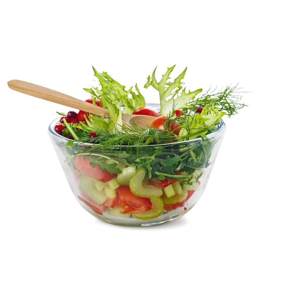 Shefu 3L High Borosilicate Glass Bowl Heat-Resistant Salad bowl Fruit Vegetable