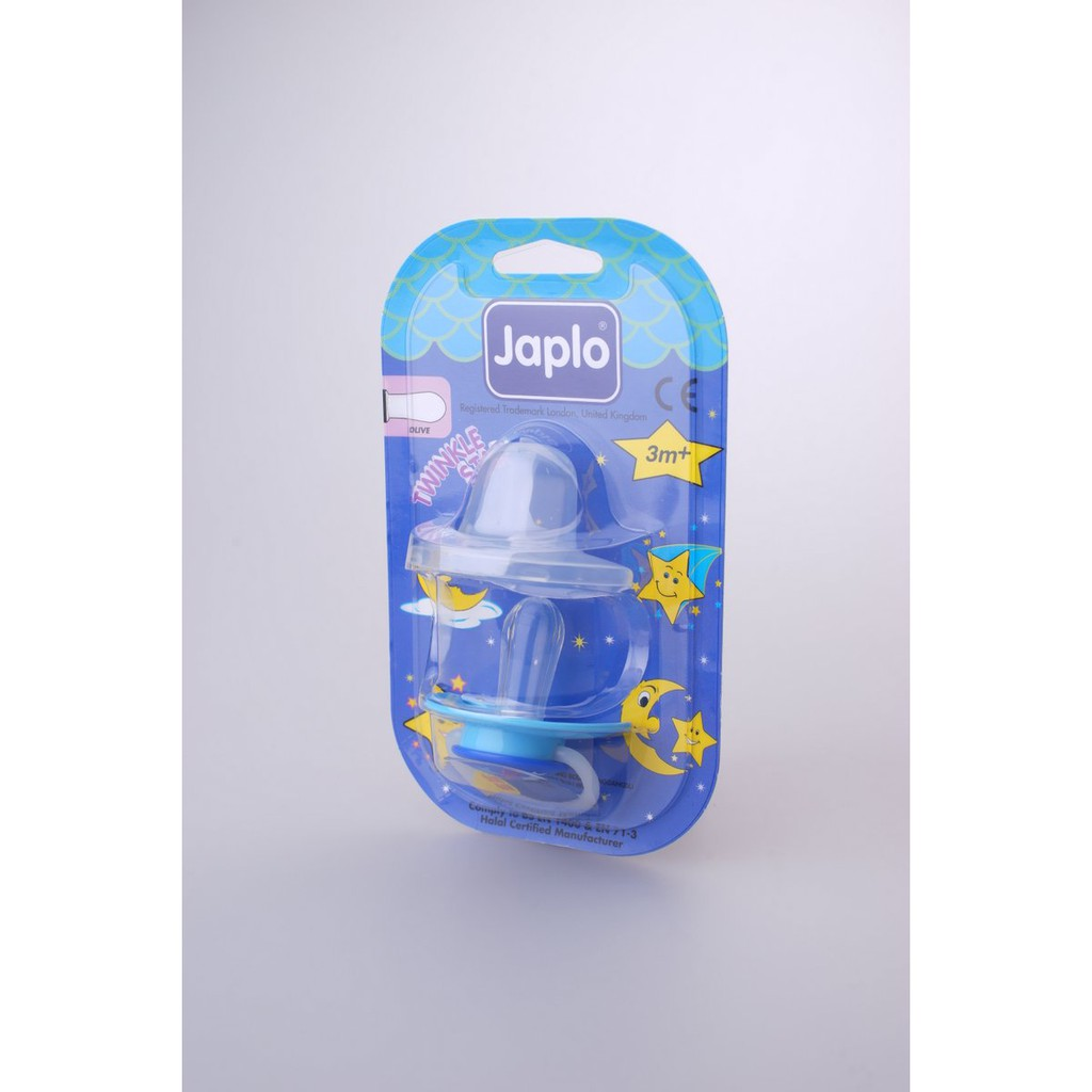 Japlo T/Star Olive - Ts28 Soother - With Night Growth Handle- (With Cover)