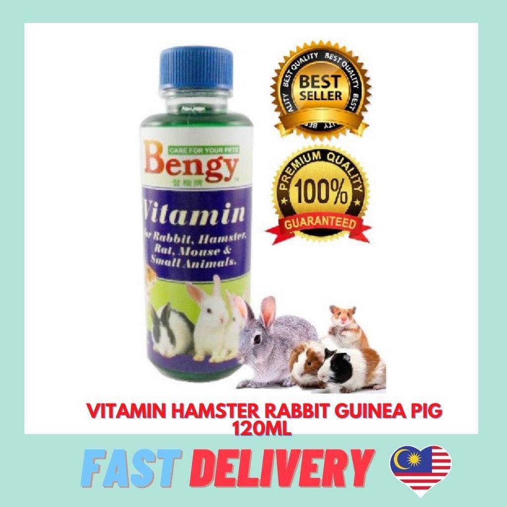 Best VITAMIN SMALL ANIMAL BENGY 120ML - SUPPLEMENT FOR HAMSTER GUINEA PIG SUGAR GLIDER HEDGEHOG RABBIT