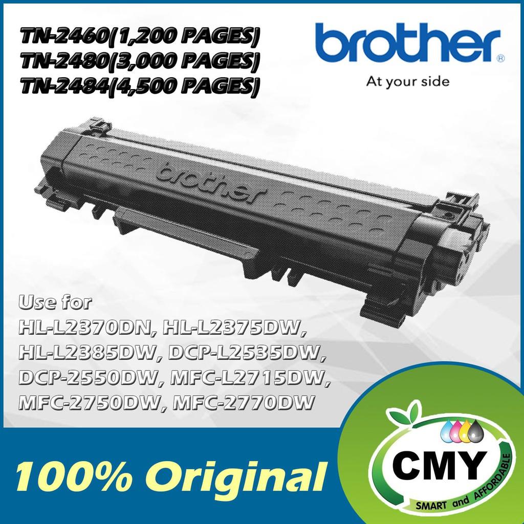 Brother Original TN-2460 TN-2480 TN-2484 Toner HL-L2320 2370 2385 DCP-L2550DW MFC-L2715DW 2770DW