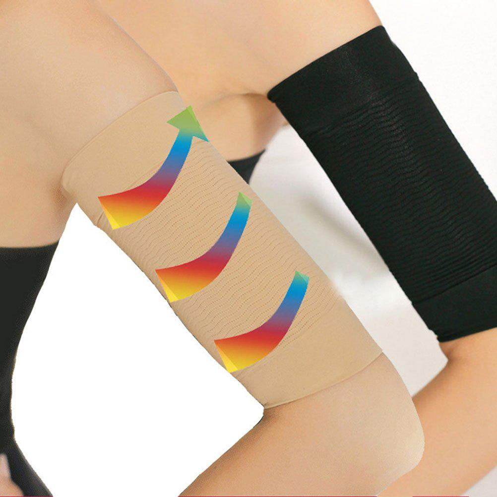5b1a12d4a4 Slimming Compression Arm Sleeve Shaper Calories Off Lose Fat Buster ...