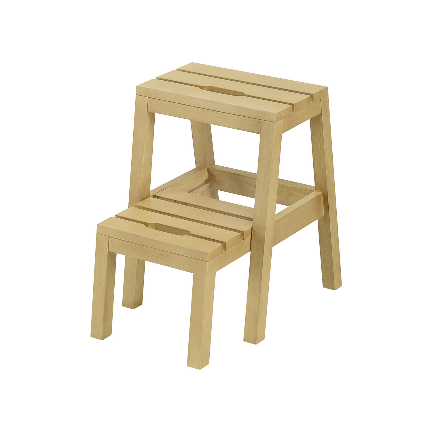Furniture Direct DEXTRA solid wood space saver step stool
