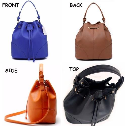 Lulugift TSAR Stylish Leather Sling Bag Yellow