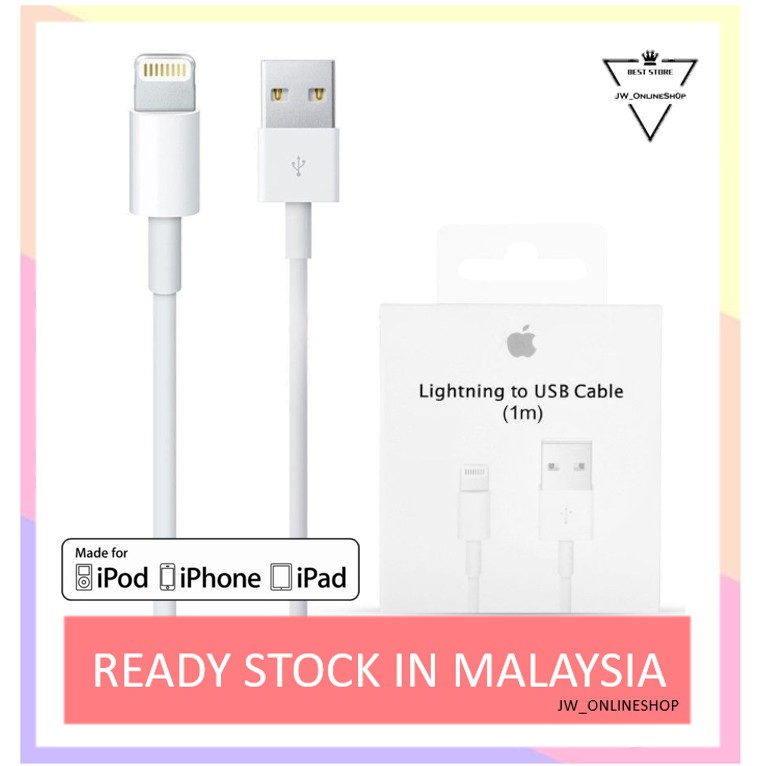 Original Apple IPhone Cable Quick Fast Charge Data Lightning USB Cable