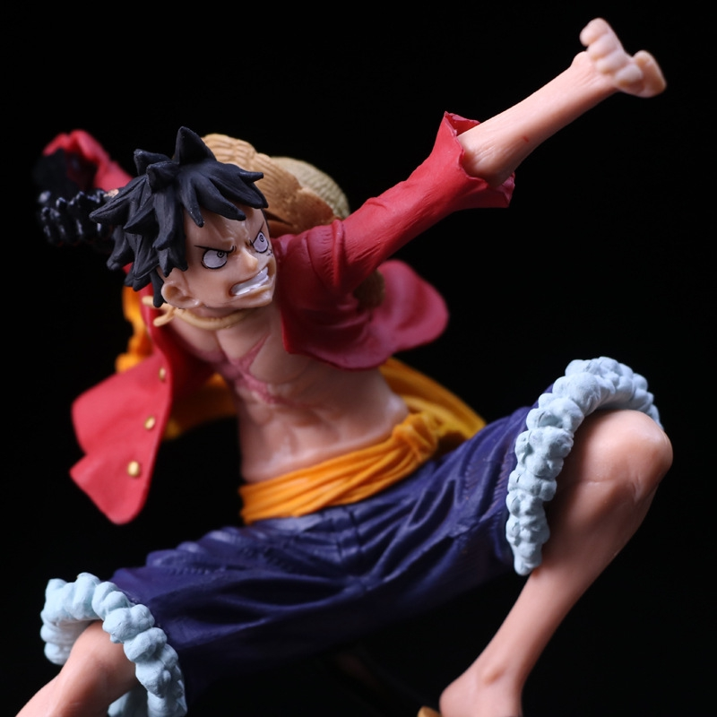 "6/"" ONE PIECE Monkey D Luffy PVC Figure SCultures 02 Collectible Toy Gift In Box"