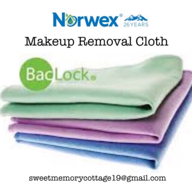 Norwex Removal Cloth Set Makeup Remover