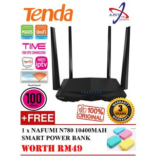Tenda AC6 1200mbps wireless wifi Router Dual Band 2 4Ghz/5 0