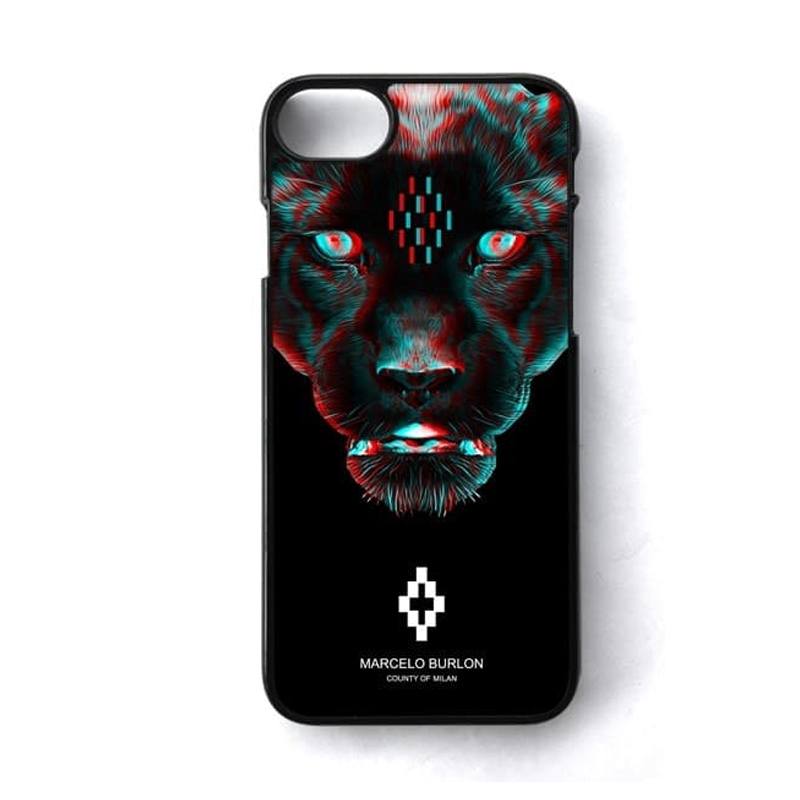 informazioni per e467f 14b54 Personality Design Marcelo Burlon Jaguar Case Iphone 6 7 5s Case Cover