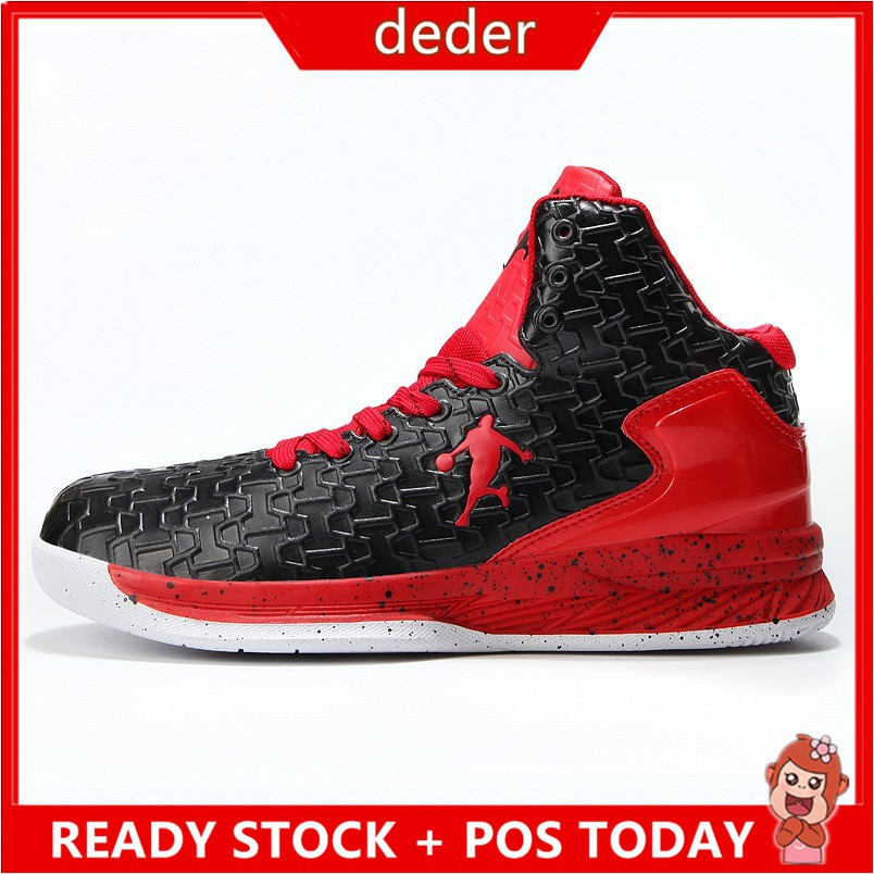 New 2019 Men's Adidas Dame 5 Cushioning Basketball Shoes Red Black EE4046