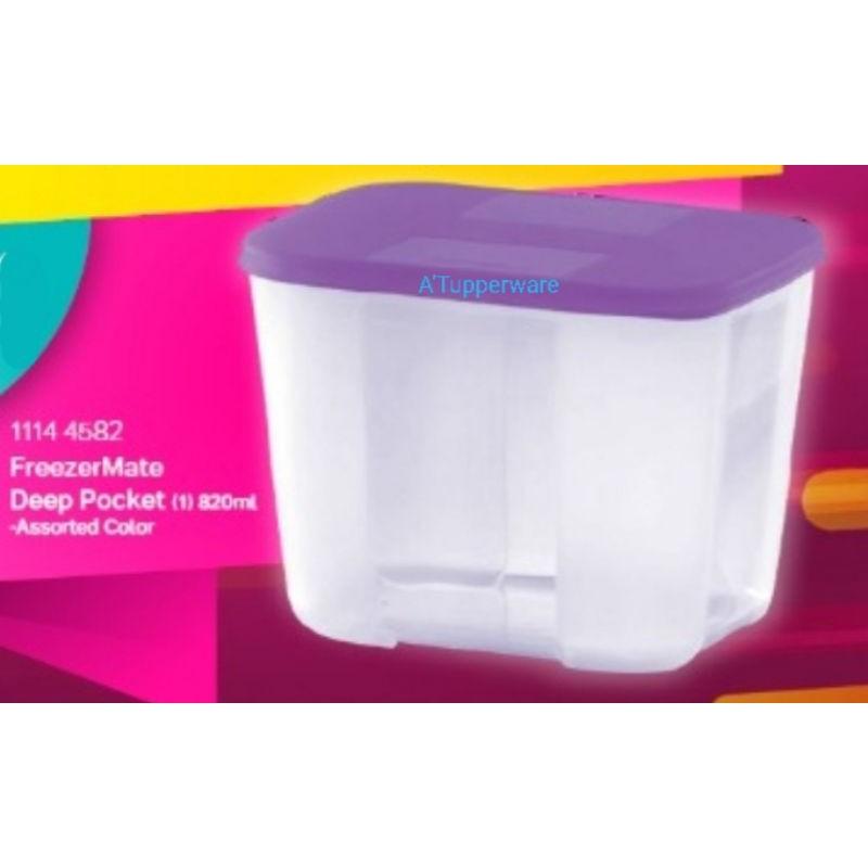 Tupperware FreezerMate Deep Pocket 820ml Pink (1)