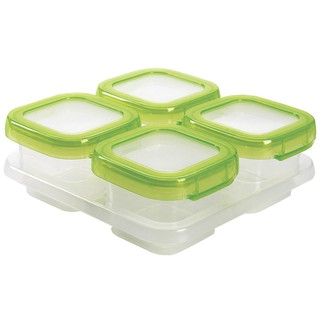 2 In 1 Silicone Baby Food Storage Container Freezer Tray