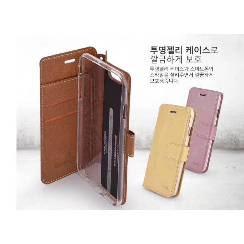 MOLAN CANO Issue Pouch Flip Cover Huawei Nova 5T & Honor 20