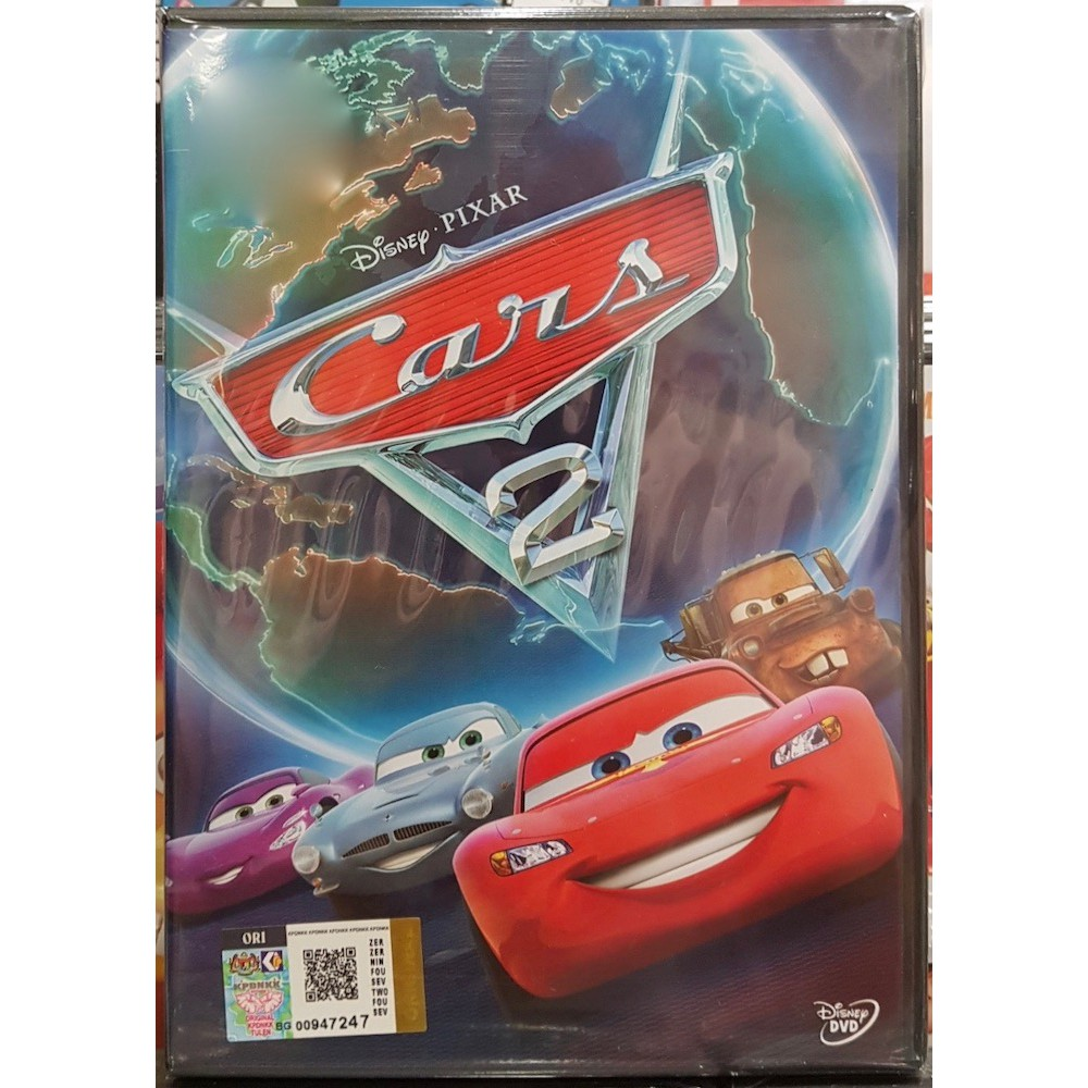 Disney Pixar Movie Cars 2 2011 Dvd Shopee Malaysia