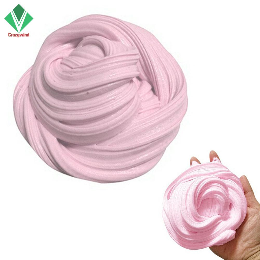Fluffy Floam Putty Rainbow Floss Cloud Crystal Stress Toys NEW Relief