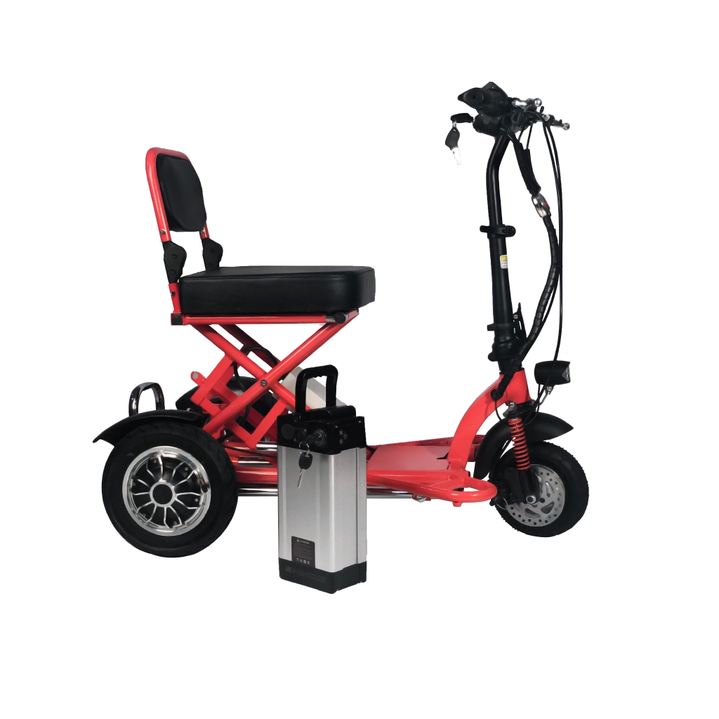 3 Wheeled Electric Motorised Wheelchair Scooter for Elderly, OKU or Disable Person, Stroke, Diabetes, Heart, Asthma Pat