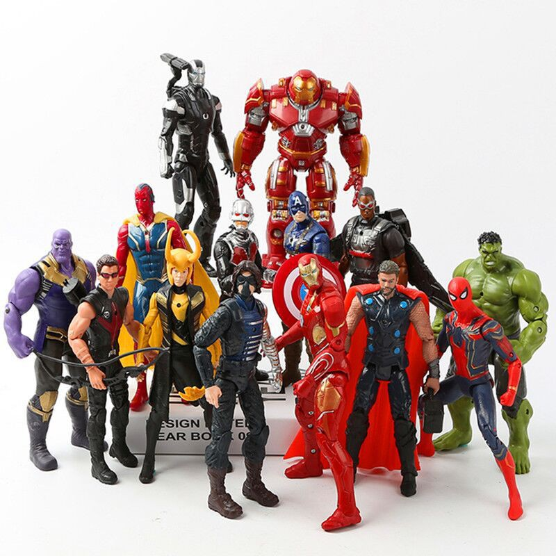 Novelty & Special Use The Avengers Infinity War Funko Pop Thanos Black Panther Black Widow Winter Soldier 10cm Action Figure Collection Pvc Doll Comfortable Feel Costume Props