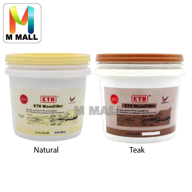Kth Wood Filler Cracks And Holes 1 5kg Teak Or Natural