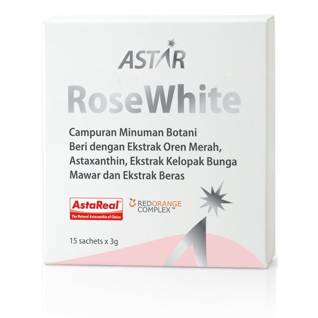 Astar Rose White-Rose Petal Extract from Japan