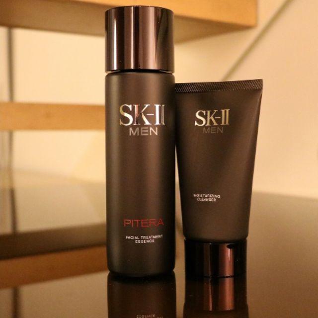 Sk Ii Sk2 Men Facial Treatment Essence Sk Ii Men Moisturizing Cleanser 120g Combo Set Shopee Malaysia