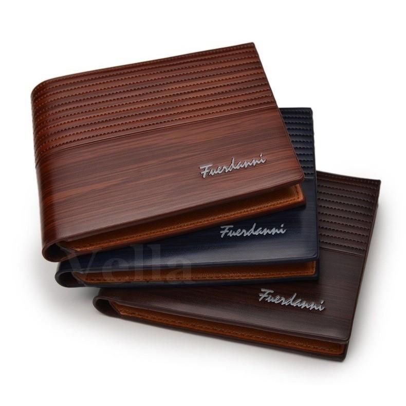 Fuerdanni Original Men Classic Pu Short Wallet Purse  ef7788817a