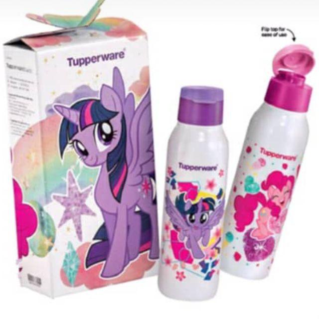 NEW. TUPPERWARE My Little Pony Eco Bottle (2) 750 ml