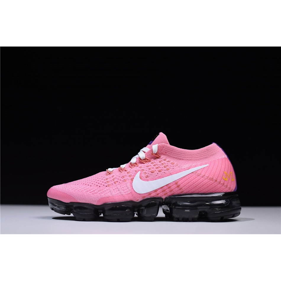 best cheap 20f5d 206fe Nike Women's Dragon Ball Z x Air VaporMax Flyknit Running Shoes Pink/Black