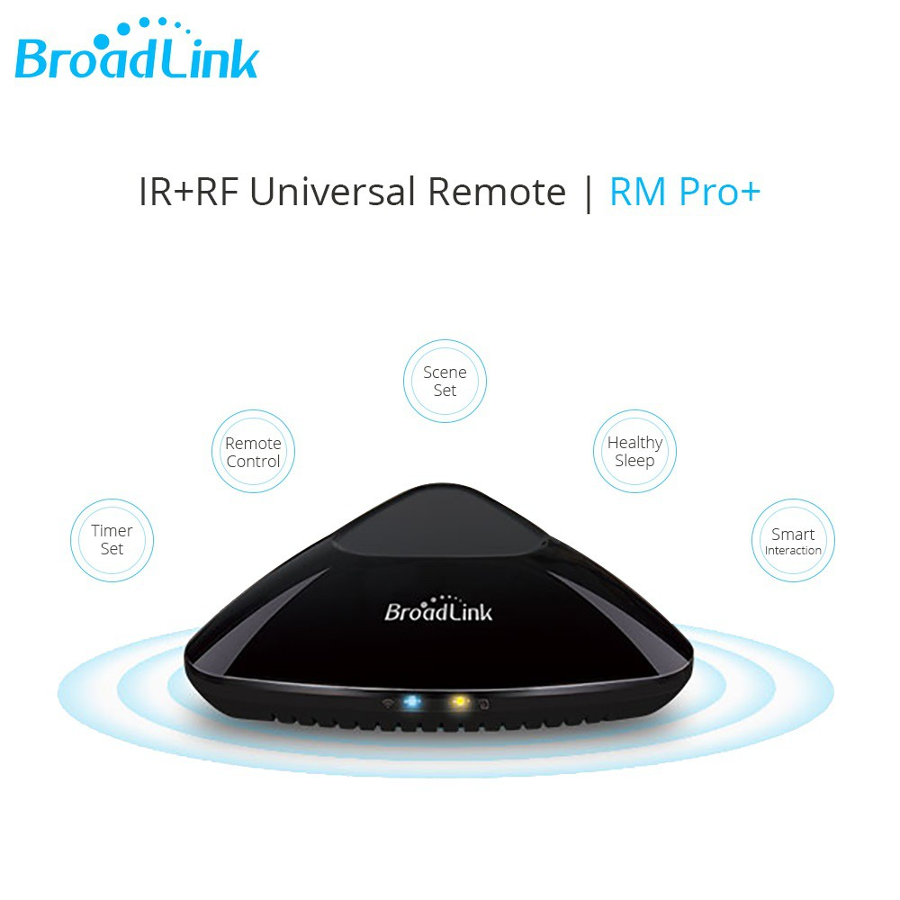 Upgrade Newest Arrival Broadlink RM Pro+ Smart Wifi IR RF Remote Control  For IOS Android For Alexa Google Home