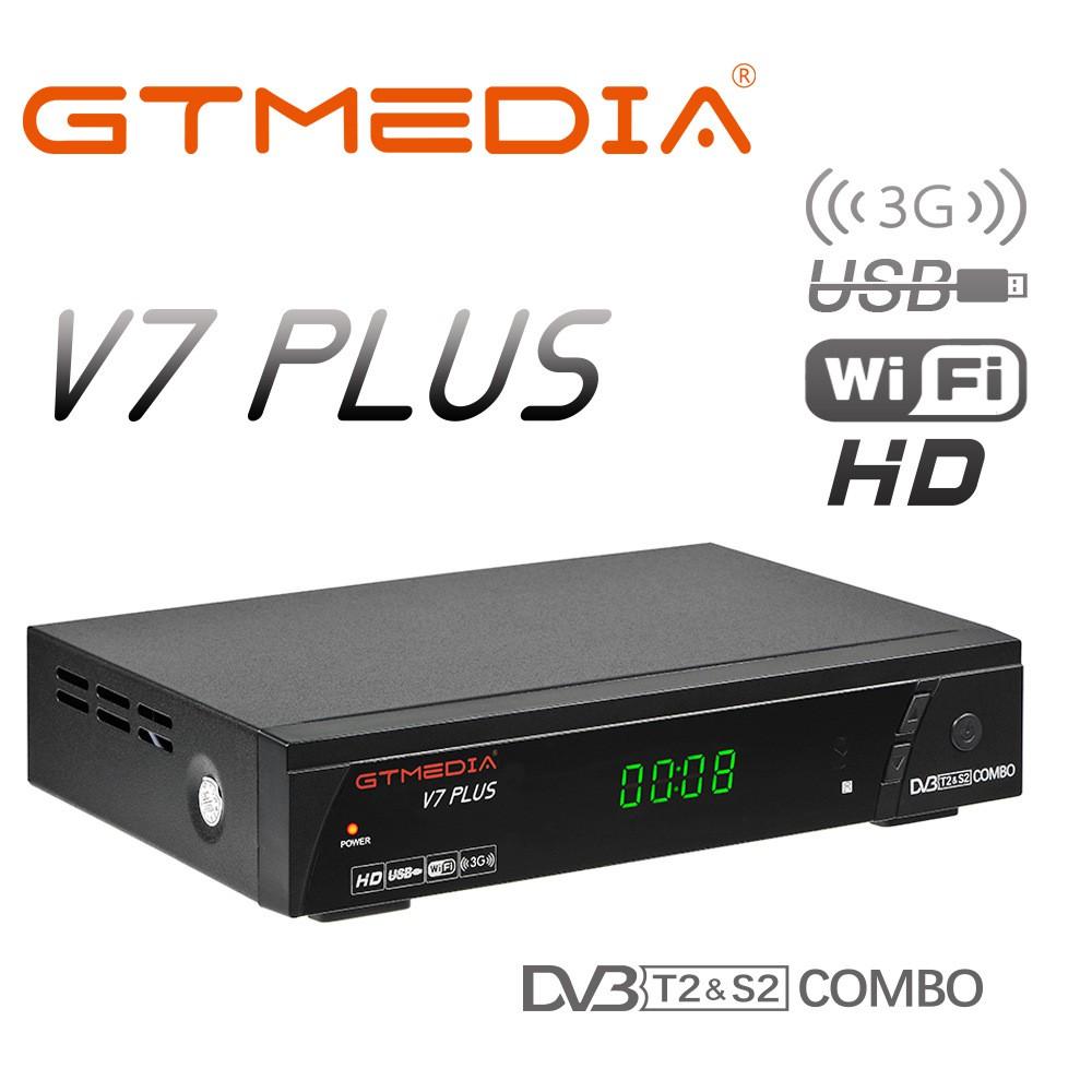 GTMEDIA V7 PLUS Freesat V7 DVB S2 COMBO DVB T2 HD machine