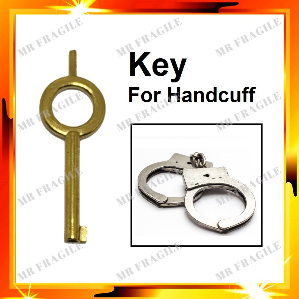 KEY FOR HANDCUFF / HANDCUFFS KEY / KUNCI GARI (KEY ONLY)