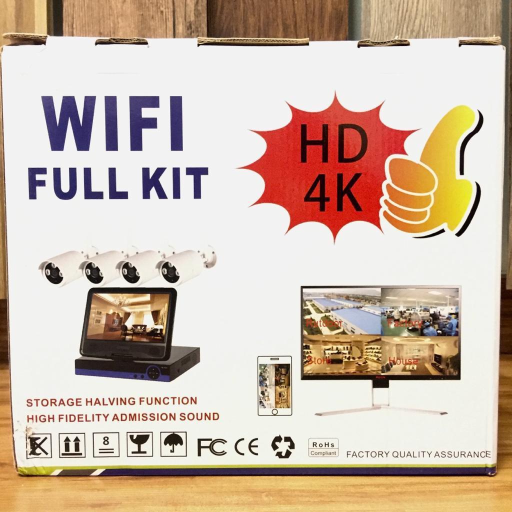 4Channel Full Set CCTV(WIFI)