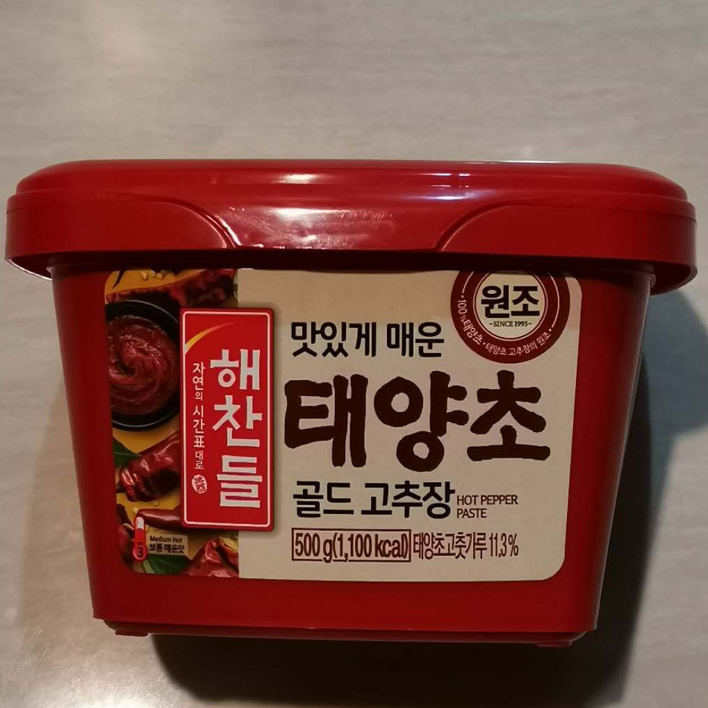 Korean Red Pepper Chilli Paste /Gochujang/ Hot Chili Paste/ Spicy Sauce - 正宗韩国辣酱 - 100% Made In Korea