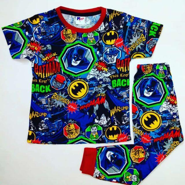 Pyjamas Budak Viral Harga Borong Size Kids 2 10 Tahun Shopee Malaysia
