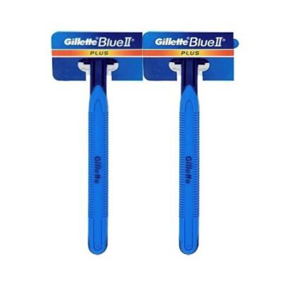 Gillette Blue 2 / Blue II Plus Disposable Razor 2pc pack