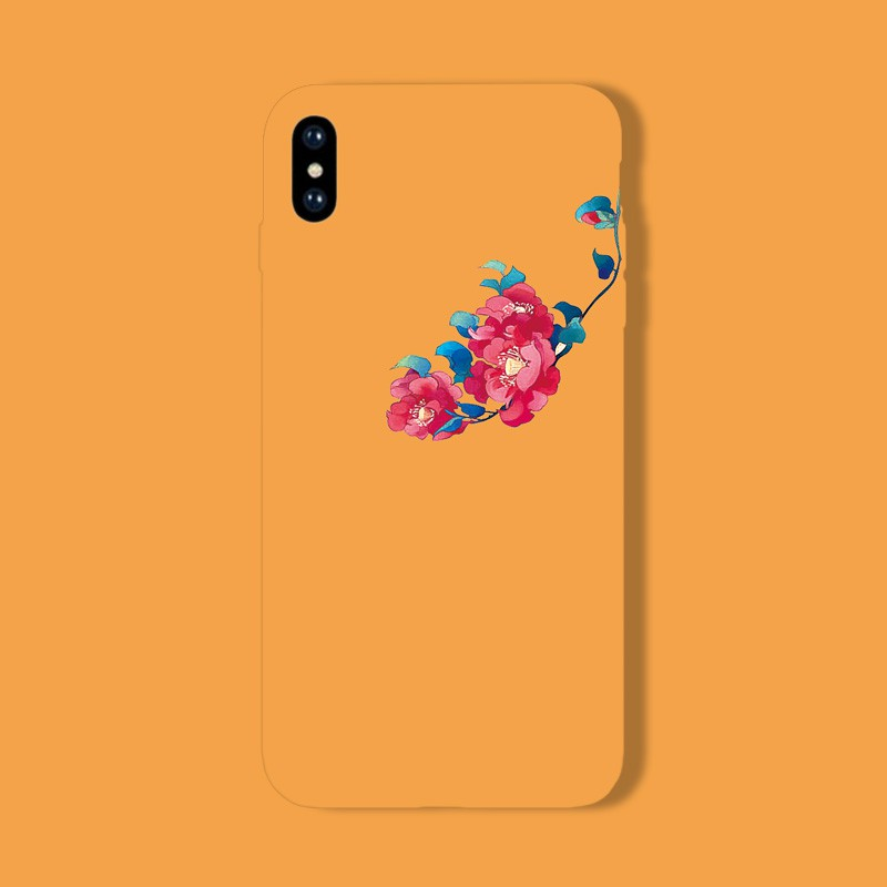 XR Japan and South Korea a flower 7PLUS all-inclusive iphoneX mobile phone  shell