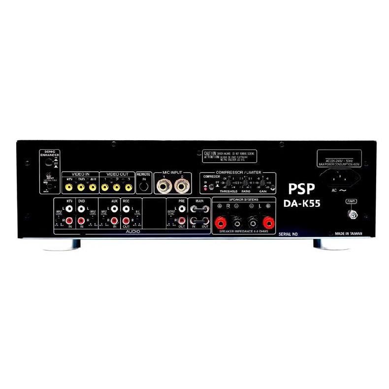 PSP DA-K55 Professional Karaoke Amplifier (Yamaha Echo Processor) (Made in Taiwan)
