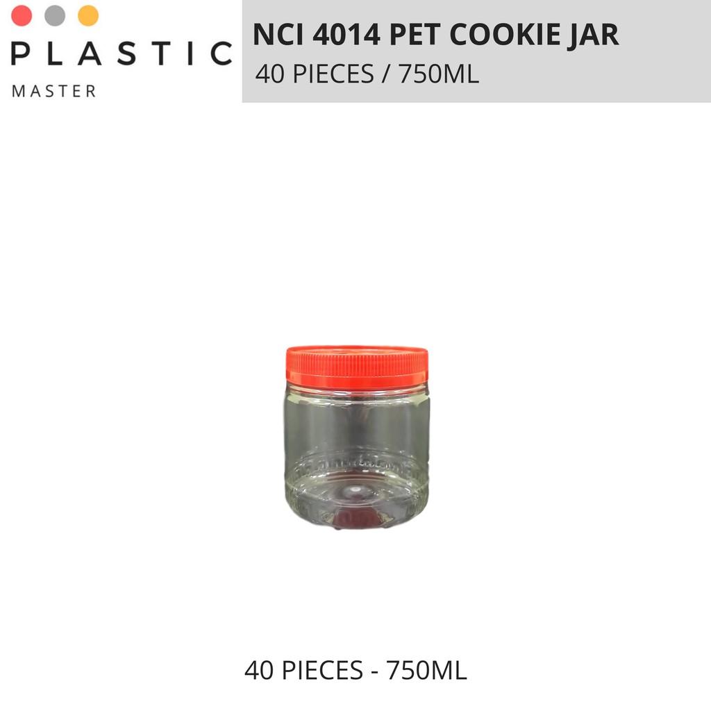 Cookie Jar, PET Container NCI 4014 (1 BAG 40 PIECES)
