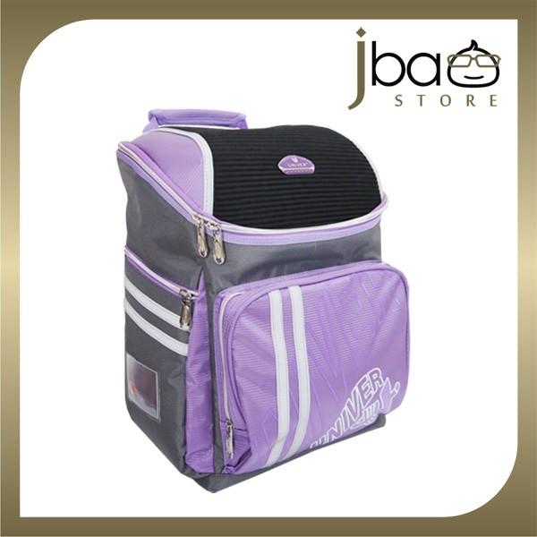 Univer School Bag Student Lightweight Backpack (Purple)